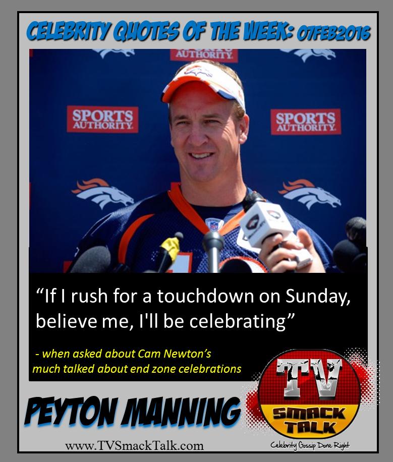 Peyton Manning - 07FEB2016