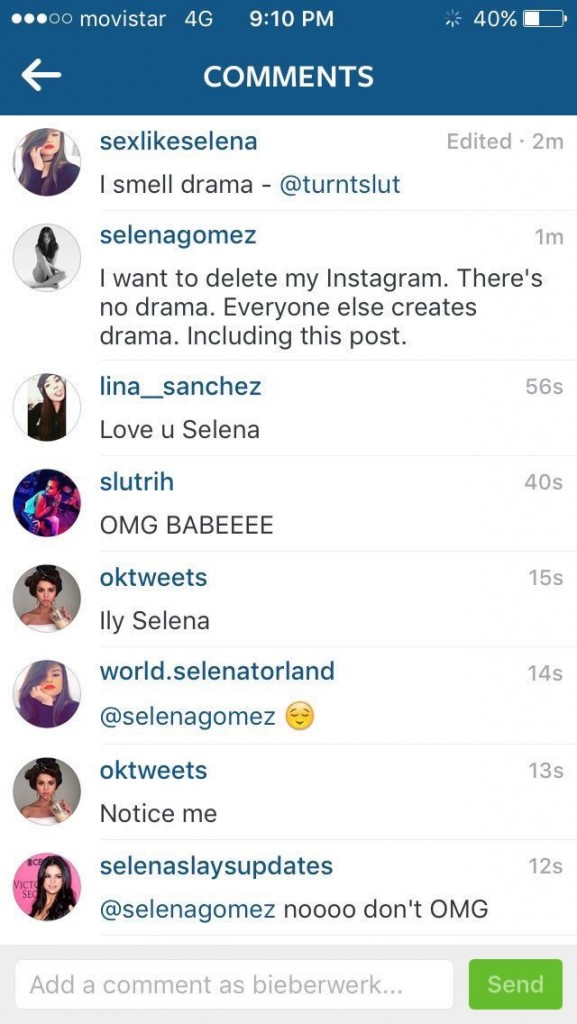SELENA SCREEN SHOT 29FEB2016