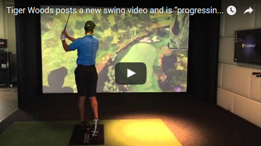 Tiger Woods Swing Video