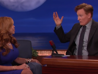 NO SHE DIDN'T! Wendy Williams Tells Conan O'Brien Shocking Parenting Story That You won't Believe!  (VIDEO)