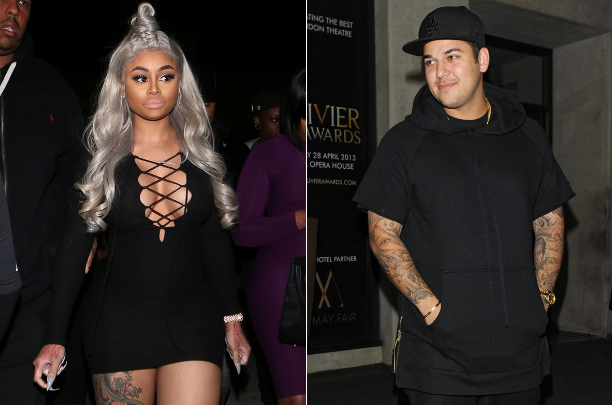 Rob Kardashian And Blac Chyna Are Now Engaged (Seriously