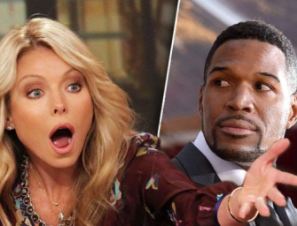 Kelly Ripa Leaves Her Own Show! Michael Strahan Forced To Host Show With Surprise Guest (VIDEO)