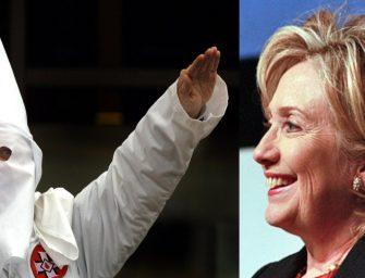 Hillary Clinton's the KKKs Frontrunner?