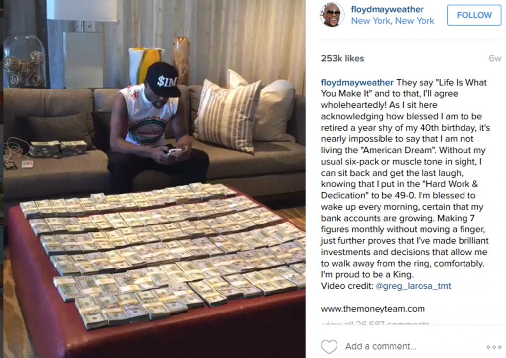 Floyd mayweather 03MAY2016