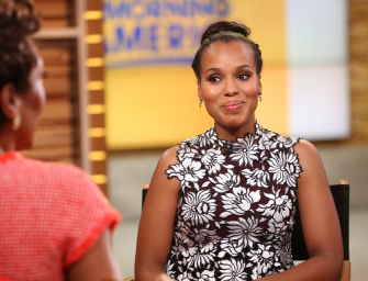 'Scandal' Star Kerry Washington Claims She Was Fired From Two TV Shows For Not Being 'Hood' Enough
