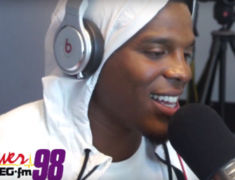 Cam Newton Sings Usher's Classic 'Nice & Slow' And It's Not Pretty…But It Was For A Good Cause! (VIDEO)