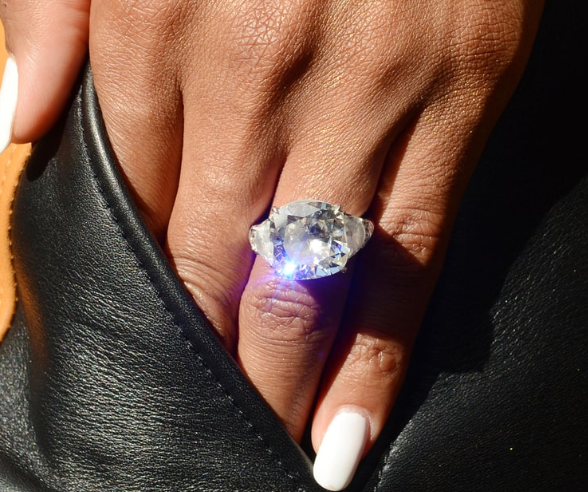 Picture Of Serena Williams Engagement Ring: Russell Wilson And Ciara Are Officially Married, Check Out