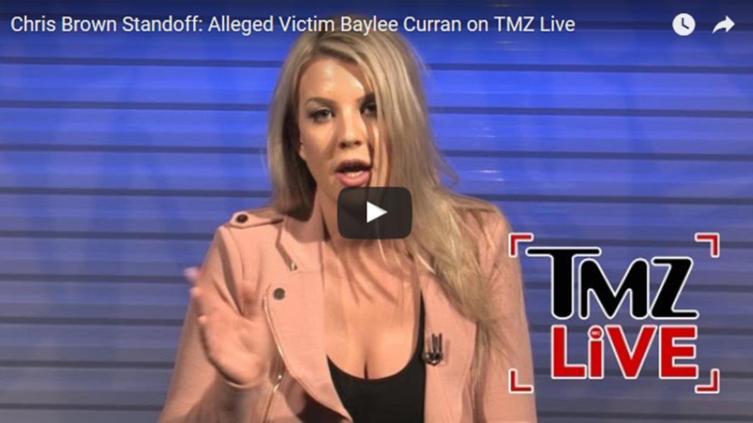 Baylee Curran TMZ Live