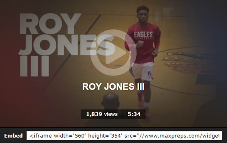 Roy Jones III