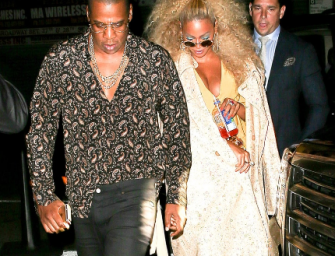 WATCH: Beyonce And Jay Z Tearing Up The Dance Floor At Her Soul Train-Themed 35th Birthday Party!