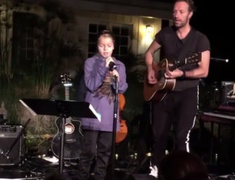 Chris Martin Brings His Kids On Stage To Perform, And They Absolutely Kill It! Watch The Amazing Video Inside!