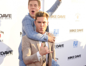 Zac Efron Gives His Buddy Adam DeVine The Best Birthday Present Ever, We Got The Bromantic Video Inside!