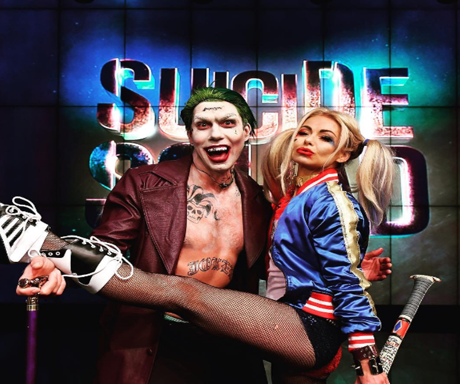 Kelly Ripa as Harley Quinn and Jerry O'Connell
