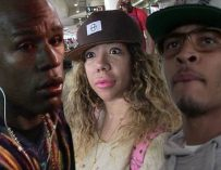 MESSY!  Tiny Takes to Social Media Again, To Defend Herself Unnecessarily Against Leaked Floyd Mayweather Video.  (3 Responses)