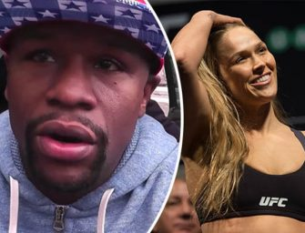 "Floyd Drops Vintage Mayweather Knowledge On the Rousey Loss, ""God Only Made one Thing Perfect; My Boxing Record""!"