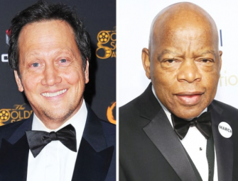 Adam Sandler's Bitch (Rob Schneider) Slammed On Twitter For Trying To Lecture Civil Rights Leader John Lewis On MLK Day