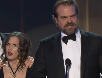 Must Watch Video: 'Stranger Things' Star Gives A Powerful, Motivating Speech At The SAG Awards, Gets Standing Ovation!