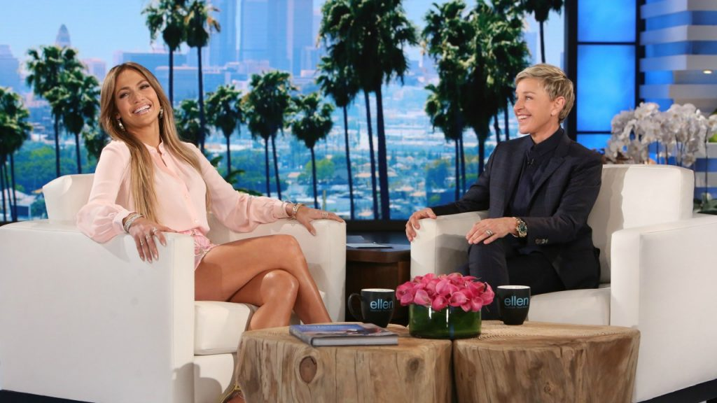 Jennifer Lopez Does Her Best To Dance Around The Drake Questions During Appearance On 'Ellen' (VIDEO)