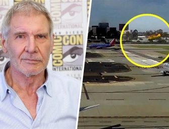 We Have Video Of Harrison Ford's Scary Incident At Airport, Watch As His Single-Engine Plane Almost Collides With An American Airlines Jetliner