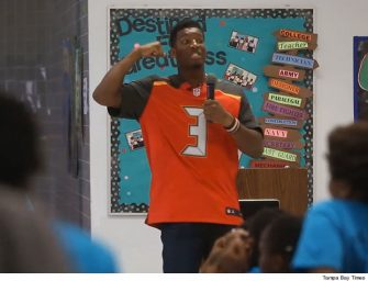 Oops! Tampa Bay Bucs Quarterback Jameis Winston Completely Goofs During Speech To Kids, Claims Girls Should Be Silent And Polite! (VIDEO)