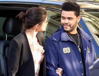 The Weeknd And Selena Gomez Show Some Serious PDA, But Watch What Happens When The Weeknd Spots The Cameras! (VIDEO)