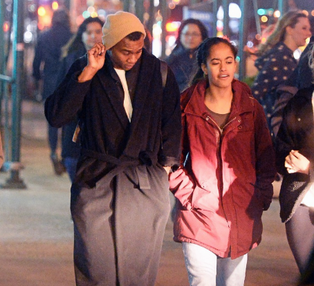 Does Malia Obama Have Herself A Boyfriend? We Got Photos Of Her Walking Around SoHo With A Mystery Man!