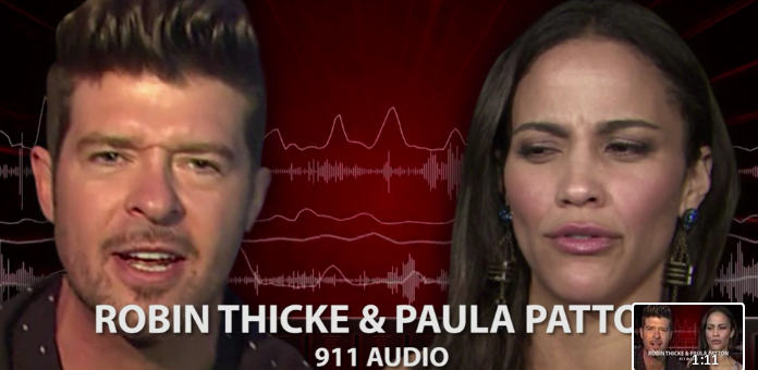 Ouch! 911 Audio Reveals Robin Thicke's 6-Year-Old Son HATES Visiting His Father, Cops Called To Park To Enforce Restraining Order! (AUDIO)