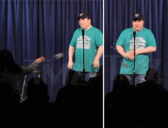 Must Watch Video: Comedian Gets Attacked On Stage By Two Women After Making Donald Trump Joke!