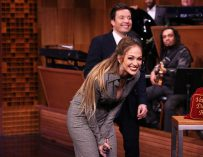 Watch Jennifer Lopez And Jimmy Fallon Battle It Out As They Make Up Ridiculous Dance Moves On The Spot (VIDEO)