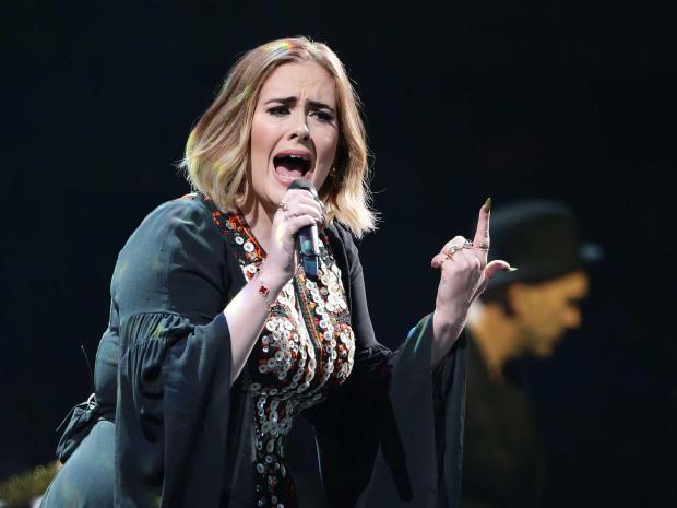 Must Watch: Adele Freaks Out During Concert When A Mosquito Lands On Her, Watch The Hilarious Clip Inside!