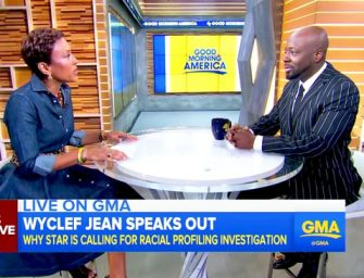 "Wyclef Jean Talks About Terrifying Incident With Police, Claims He Was ""Scared For His Life"" After Being Mistaken For Robbery Suspect (VIDEO)"