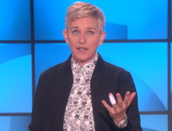OUCH! Ellen DeGeneres Fell And Dislocated Her Finger After Two Glasses Of Wine, Shares Gnarly Injury Photo With Her Audience (VIDEO)