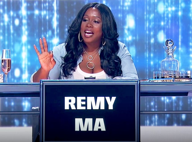 LOL! Watch Remy Ma Throw Some Hilarious Shade When Asked To Finish Nicki Minaj Lyric On Hip-Hop Squares (VIDEO)