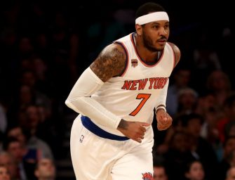 Carmelo Anthony Just Goofed Big Time, Reports Claim He Cheated On Wife And Now A Dancer Claims She Is Pregnant With His Child!