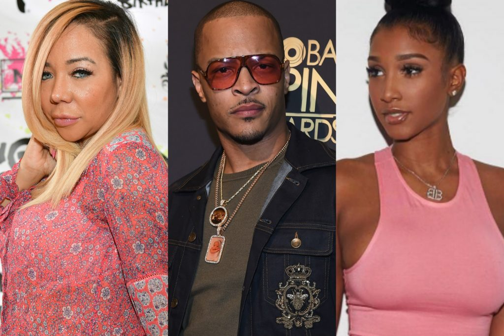 T.I. Has Been Showering Bernice Burgos With Countless Lavish Gifts; But What he Didn't Count On Was TINY Getting the Credit Card Statement!  D'OH!