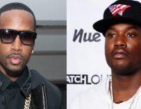 """WATCH! Video Surfaces of Safaree Getting Jumped at a BET Awards Event.  He Says Its Meek Mill and his """"Dreamchasers"""".  Meek responds! (JUMP VIDEO AND SAFAREE RANT)"""