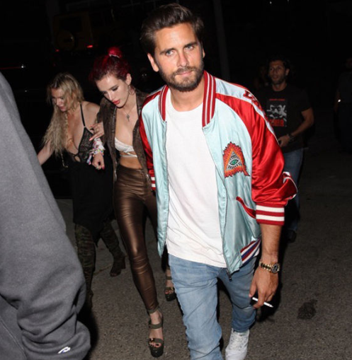 Scott Disick And Bella Thorne Are Back Together Again, Partying And Drinking Hard Following Lana Del Rey's Birthday Party