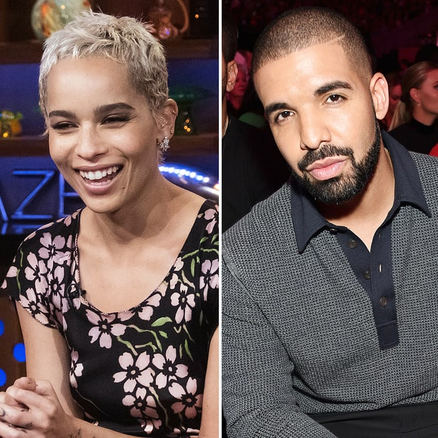 Did Zoe Kravitz Ever Hook Up With Drake? Watch Her Try To Answer The Question Inside! (VIDEO)