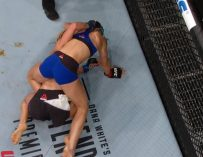 SH*T HAPPENS: UFC Fighter Justine Kish Poops Her Pants During Big Fight In The Octagon! (VIDEO)