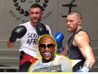 "FROM THE SOURCE!  Conor McGregor's Own Sparring Partner, Ex-Champ Chris Van Heerden, Says that Mayweather Will Destroy Him.  Says He was Out of Shape and ""Landed Punches At Will"".  (PATHETIC SPARRING VIDEO)"