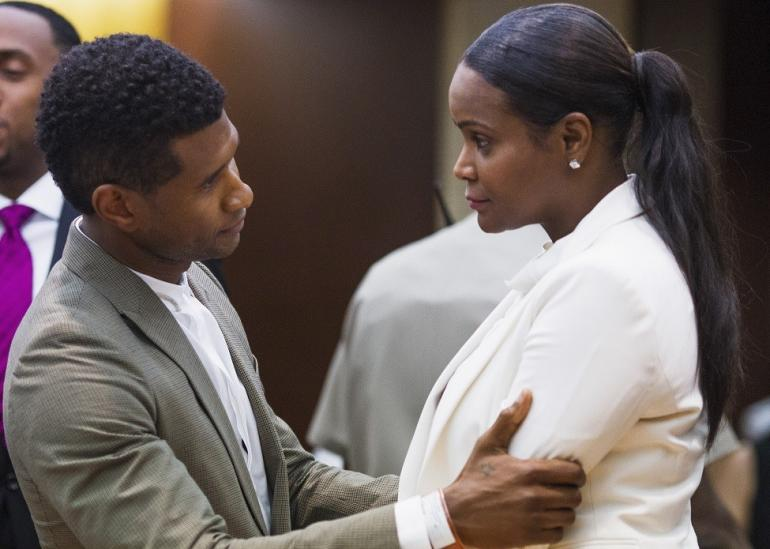 Usher's Ex-Wife Tameka Foster Wants Us All To Know Something About The $1 Million Herpes Lawsuit.  She is Not One for the Bull. (Social Posts)