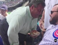 Chris Christie Gets Heckled During Baseball Game, Confronts Heckler By Getting RIGHT In His Face! WE GOT THE INTENSE VIDEO!