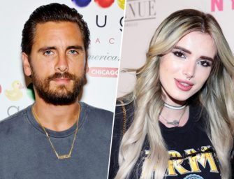 """The Bizarre Relationship Between Scott Disick And Bella Thorne Is Still Happening, Allegedly """"Pack On The PDA"""" In New York City"""