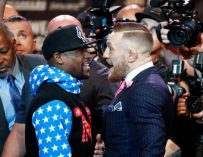 "Floyd Mayweather Says He's Not Offended By Conor McGregor's Slightly Racist ""Dance For Me, Boy"" Comments (VIDEO)"