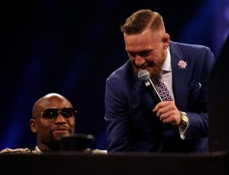 Did Conor McGregor Take His Floyd Mayweather Trolling Too Far? Floyd's Ex-Girlfriend Is Blasting McGregor For Making A Joke Out Of Domestic Violence!