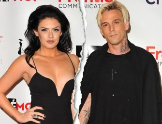 Aaron Carter Breaks Up With Madison Parker, And Then Reveals He's Bisexual On His Twitter Account…Read The Emotional Note Inside!