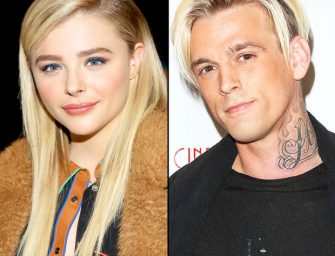 Aaron Carter Asks Chloe Grace Moretz Out On A Date After Hearing She Had A Crush On Him When She Was 4-Years-Old