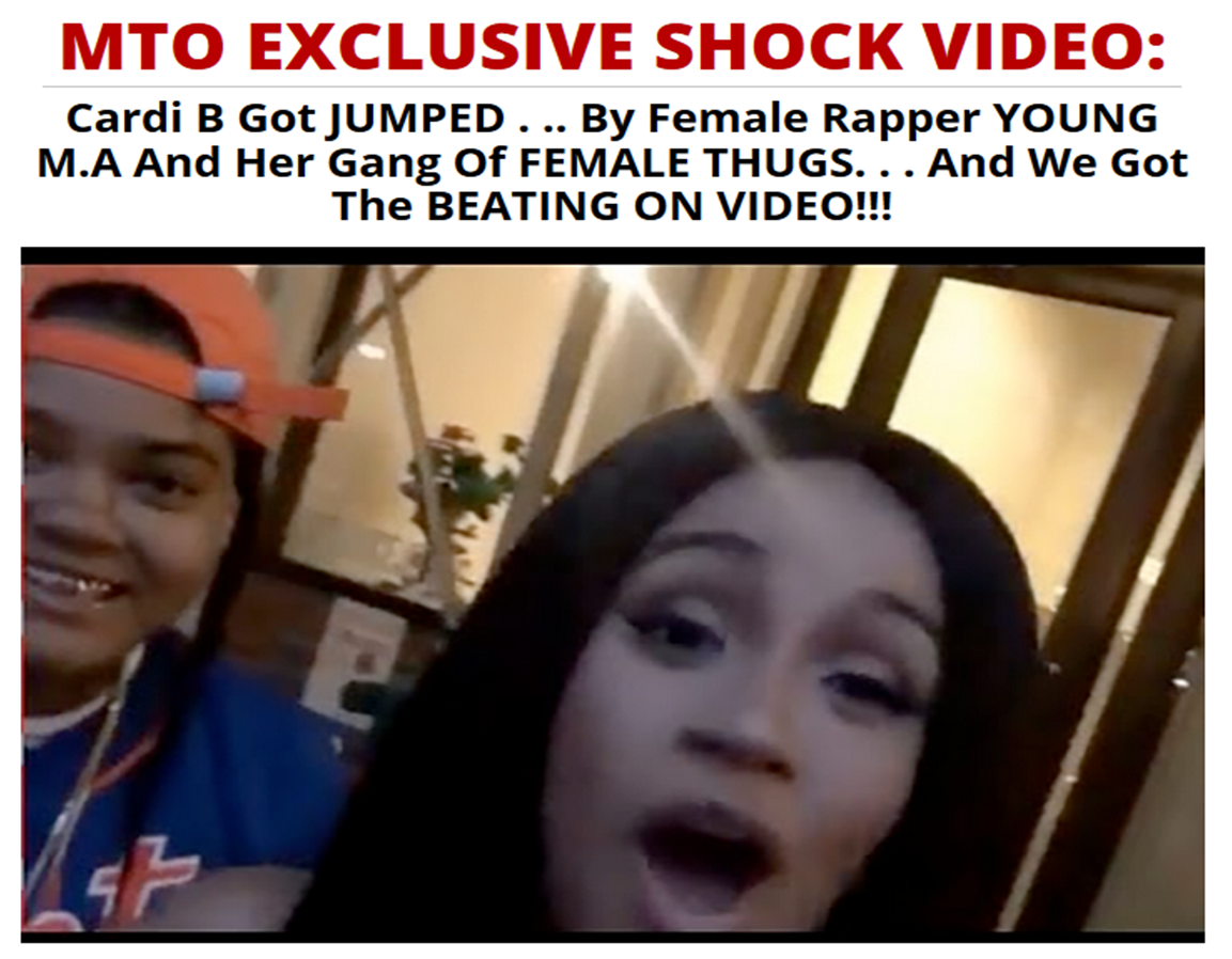 95480a3bfea5 Old Cardi B Fight Video Surfaces. Video Claims Cardi Got Jumped By ...