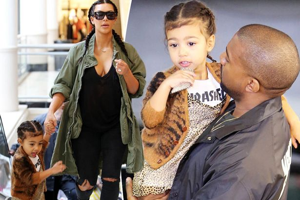 """So Freaking Cute: North West Is Obviously Learning From Her Daddy, Tells The Paparazzi """"No Pictures, No Questions!"""" (VIDEO)"""