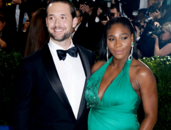Serena Williams Shares First Photos Of Her Newborn Daughter With Reddit Co-Founder,  See How Cute This Baby Is Inside! (VIDEO)